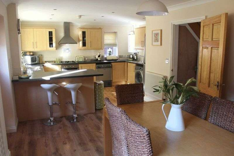 4 Bedrooms Detached House for sale in Midhaven Rise, Weston-Super-Mare