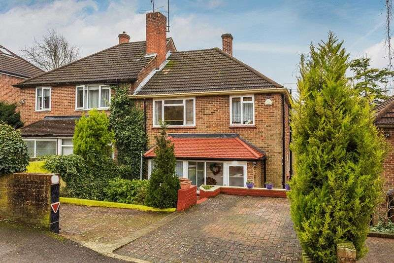 3 Bedrooms Semi Detached House for sale in Whitefield Avenue, PURLEY