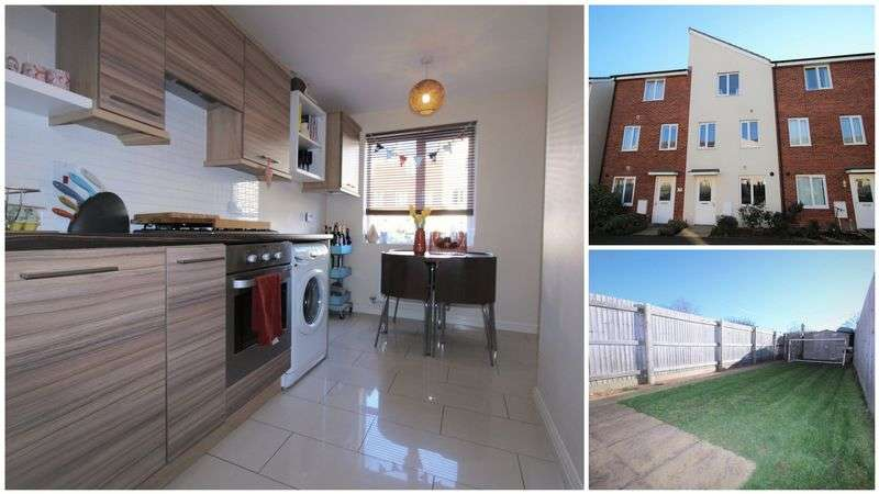 4 Bedrooms House for sale in Thursby Walk, Exeter