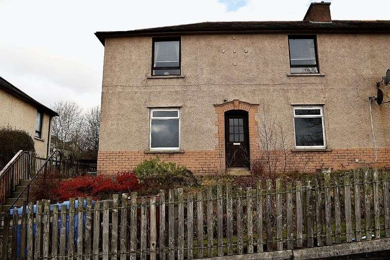 2 Bedrooms Flat for sale in Stuart Terrace, Bathgate