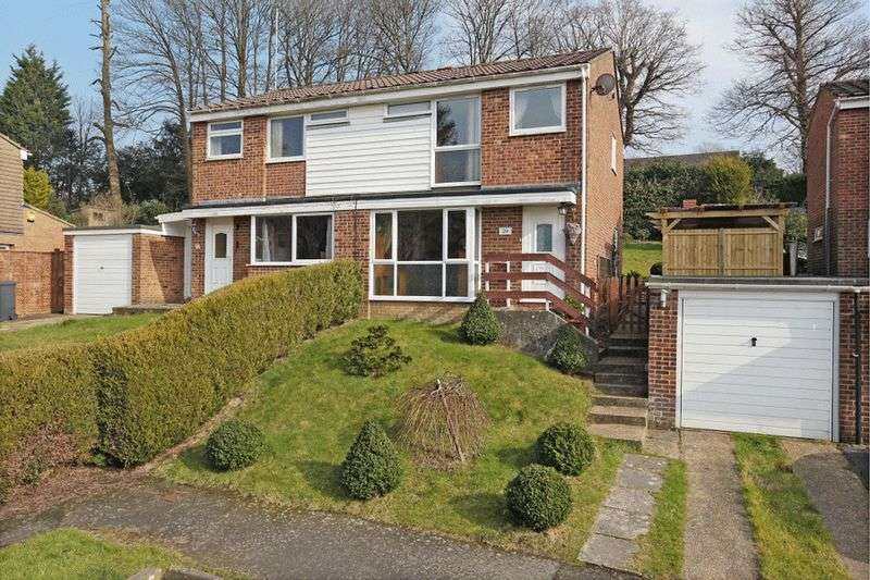 3 Bedrooms Semi Detached House for sale in Rocks Park Road, Uckfield, East Sussex