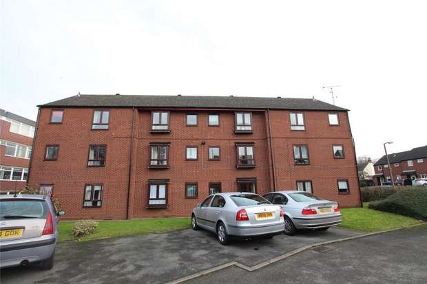 1 Bedroom Flat for sale in Mercian Court, Maxwell Close, Lichfield, Staffordshire