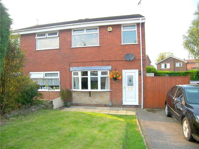 3 Bedrooms Semi Detached House for sale in Greenacres Drive, South Normanton, Alfreton, Derbyshire, DE55