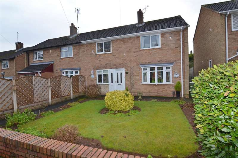3 Bedrooms Semi Detached House for sale in Eliot Way, Stafford