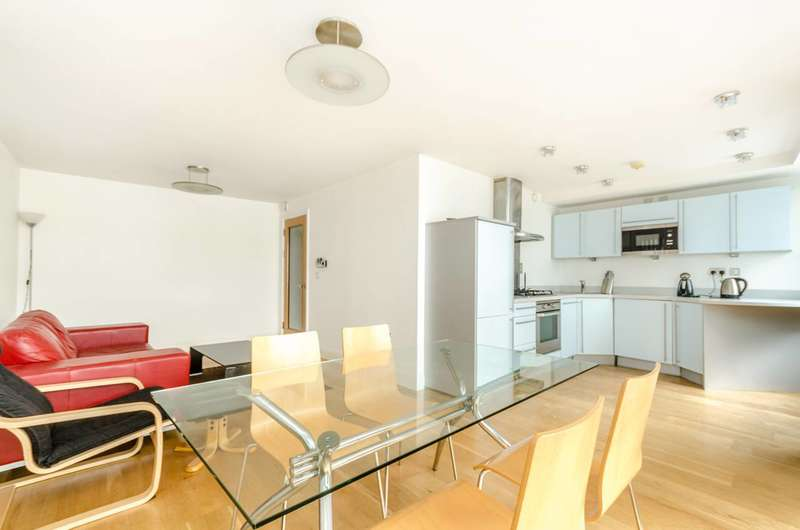 3 Bedrooms Flat for sale in Meridian Point, Greenwich, SE8