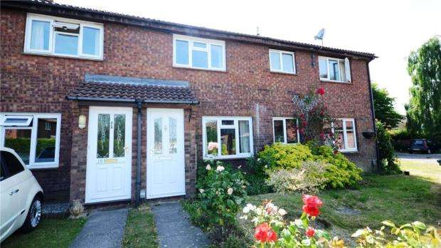 2 Bedrooms Terraced House for sale in Oldberg Gardens, Basingstoke, Hampshire