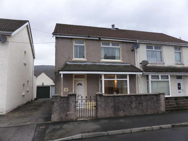 Semi Detached House for sale in 11 Cedar Street, Cwmgwrach, Glynneath