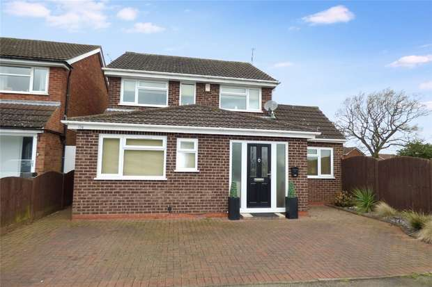 4 Bedrooms Detached House for sale in Wentworth Drive, Whitestone, Nuneaton, Warwickshire