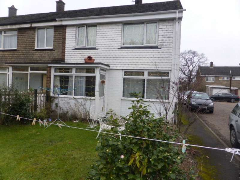 3 Bedrooms End Of Terrace House for sale in Erkenwald Road, Chertsey