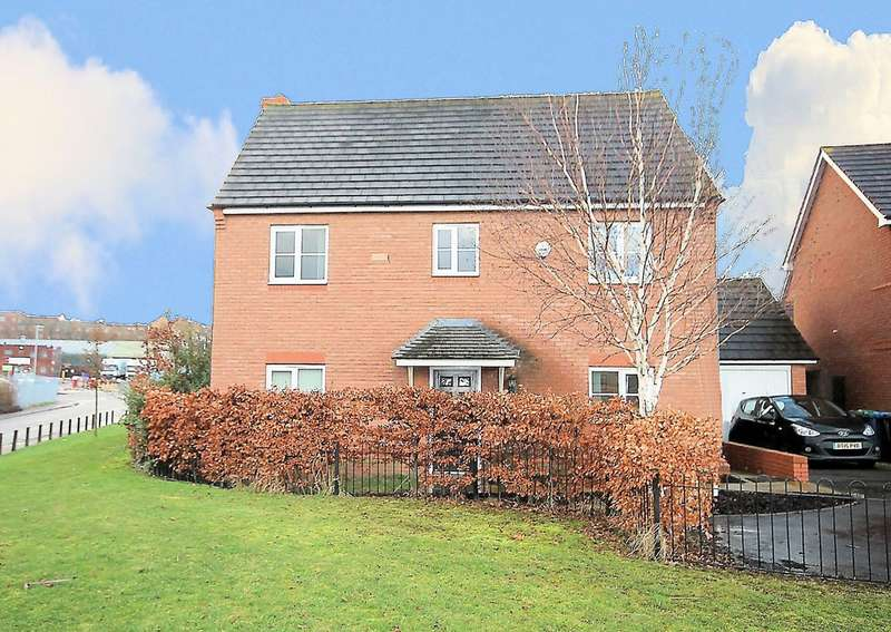 4 Bedrooms Detached House for sale in Boulder Close, Wilnecote, Tamworth B77 5FQ