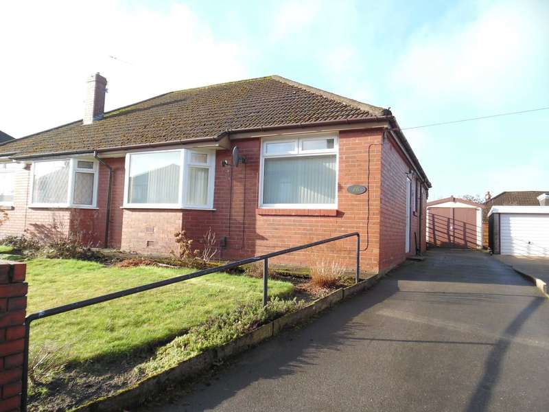 2 Bedrooms Semi Detached Bungalow for sale in Manor Road, Shaw