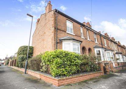 2 Bedrooms End Of Terrace House for sale in Granville Street, Leamington Spa, Warwickshire, England