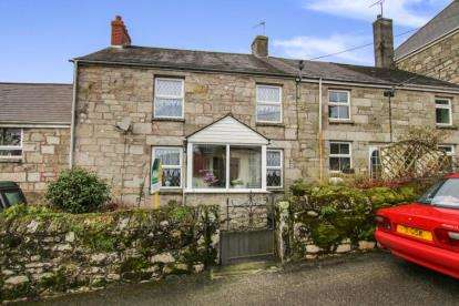 3 Bedrooms Terraced House for sale in Nanpean, St. Austell, Cornwall