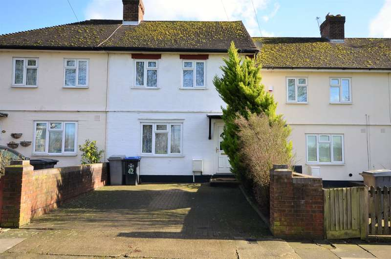 3 Bedrooms Terraced House for sale in Elthorne Way, Kingsbury, NW9 8BN