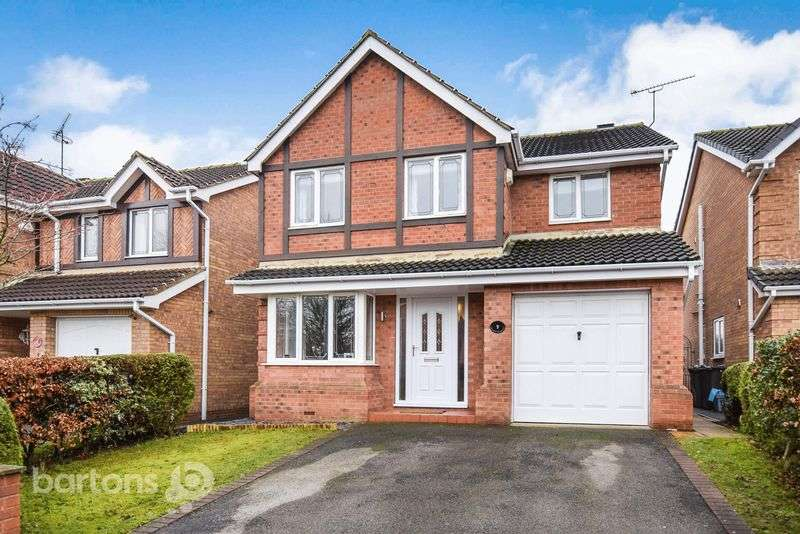 4 Bedrooms Detached House for sale in Bartholomew Close, WHISTON