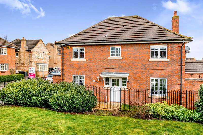 4 Bedrooms Detached House for sale in Victor Close, Shortstown, Bedford, MK42