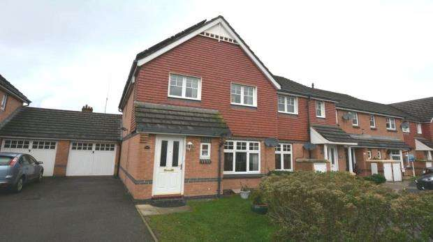 3 Bedrooms End Of Terrace House for sale in Ruffle Close, West Drayton