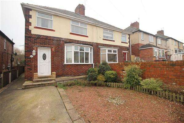 3 Bedrooms Semi Detached House for sale in Nethermoor Lane, Killamarsh, Sheffield, S21 1BZ