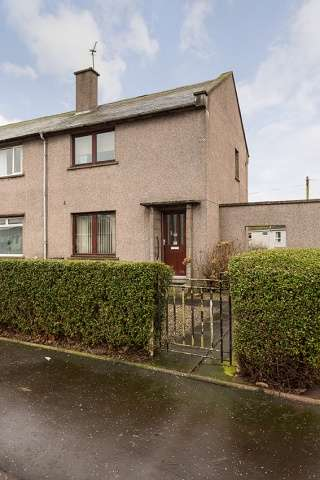 2 Bedrooms End Of Terrace House for sale in Bloomfield Road, Arbroath, Angus, DD11 3LG