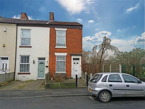 4 Bedrooms End Of Terrace House for sale in Greg Street, Stockport, Cheshire