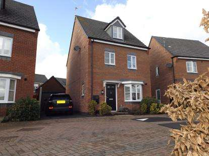4 Bedrooms Detached House for sale in Albert Road, Countesthorpe, Leicester, Leicestershire