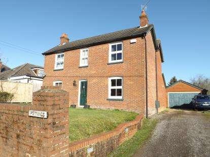 4 Bedrooms Detached House for sale in Cadnam, Hants