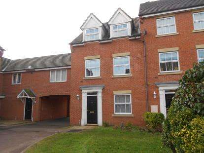 4 Bedrooms Terraced House for sale in Croyland Drive, Elstow, Bedford, Bedfordshire