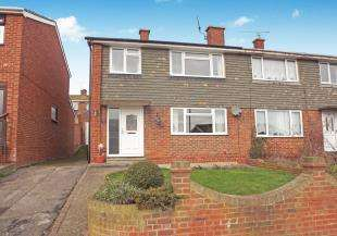 3 Bedrooms Semi Detached House for sale in Vidgeon Avenue, Hoo, Rochester, Kent