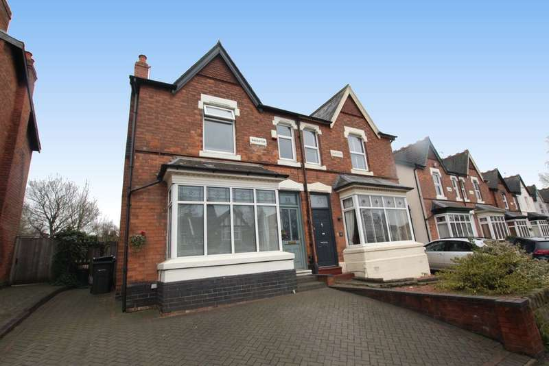 4 Bedrooms Semi Detached House for sale in Upper Holland Road, Sutton Coldfield, B72 1SU