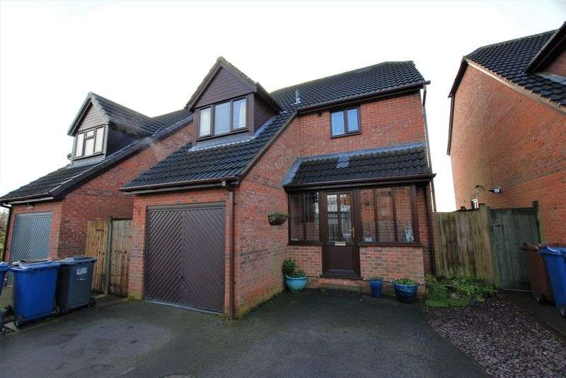 3 Bedrooms Detached House for sale in Millbank Drive, Rocester
