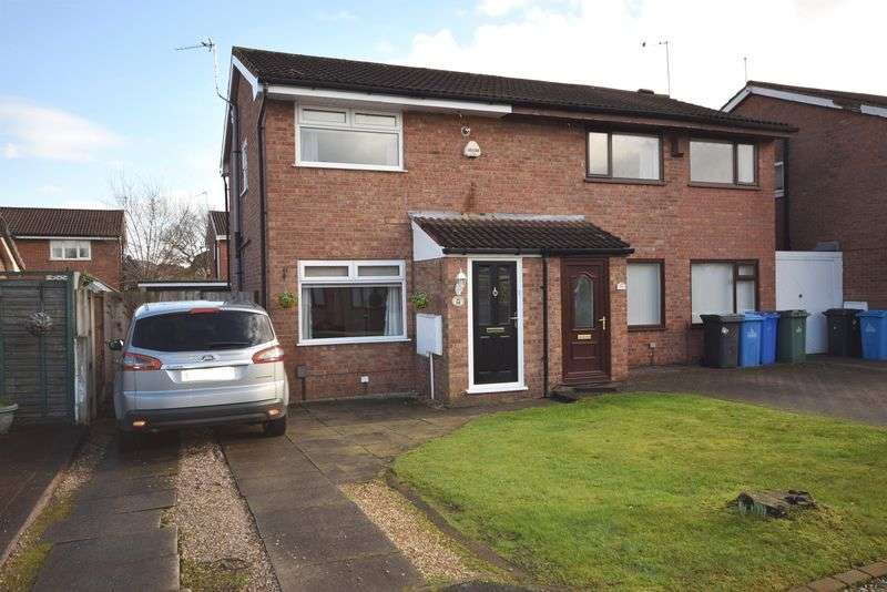 2 Bedrooms Semi Detached House for sale in Tiverton Close, Widnes