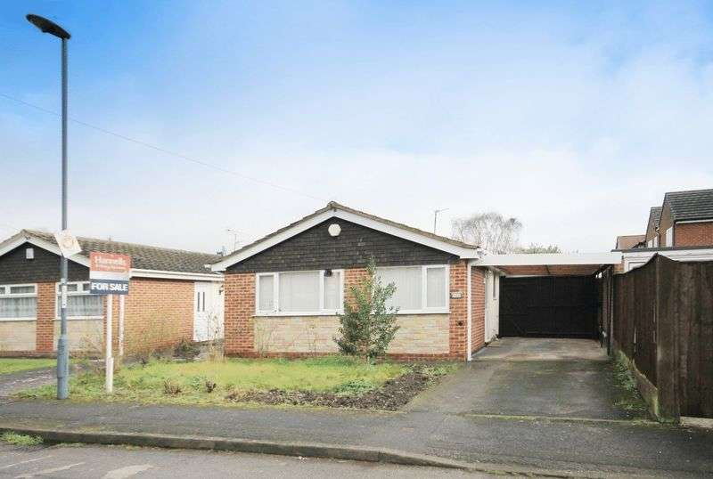 2 Bedrooms Detached Bungalow for sale in LORRAINE CLOSE, SHELTON LOCK
