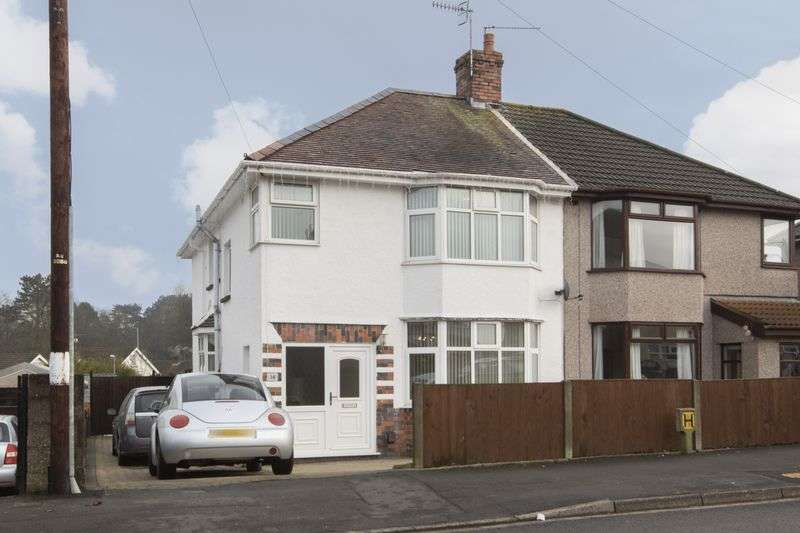 4 Bedrooms Semi Detached House for sale in Highfield Road, Newport