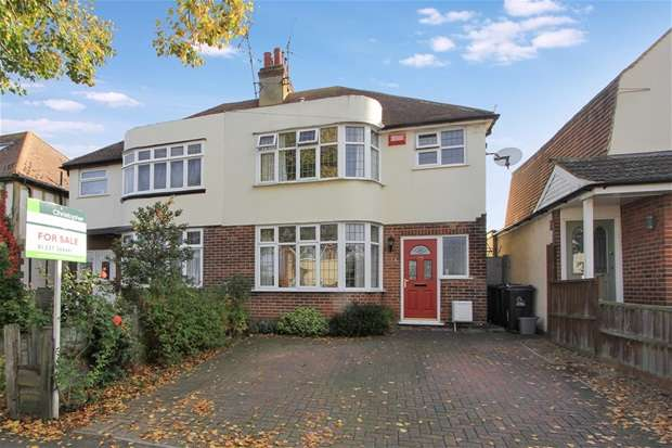 4 Bedrooms Semi Detached House for sale in Linden Avenue, Whitstable