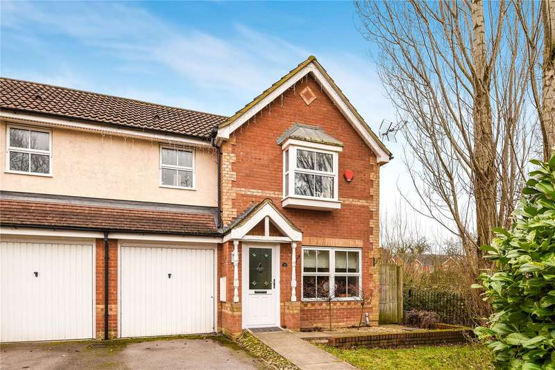 3 Bedrooms End Of Terrace House for sale in Arbery Way, Arborfield, Reading, Berkshire, RG2