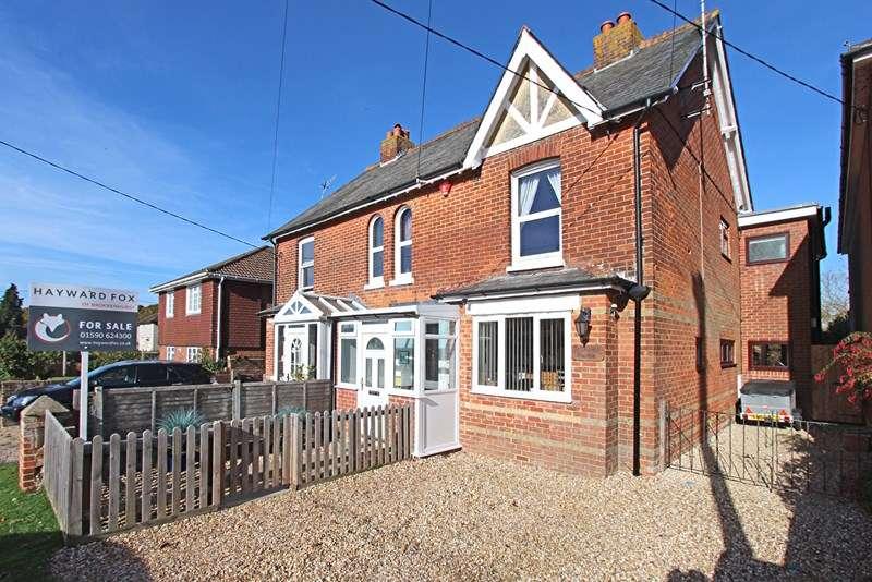 4 Bedrooms Semi Detached House for sale in Avenue Road, Brockenhurst