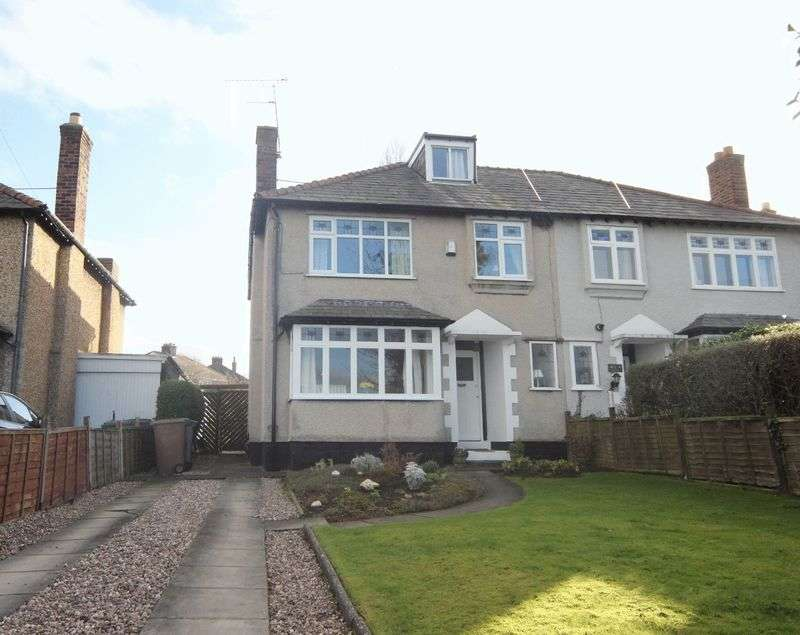 4 Bedrooms Semi Detached House for sale in Seaview Lane, Irby, Wirral