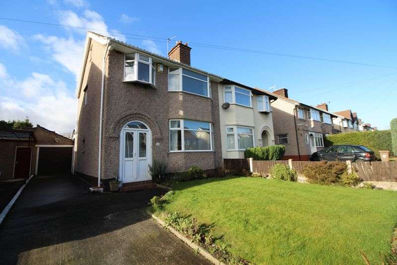 3 Bedrooms Semi Detached House for sale in Heyville Road, Bebington