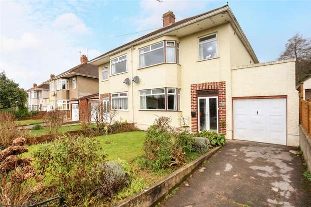 3 Bedrooms Detached House for sale in Arbutus Drive, Coombe Dingle, Bristol