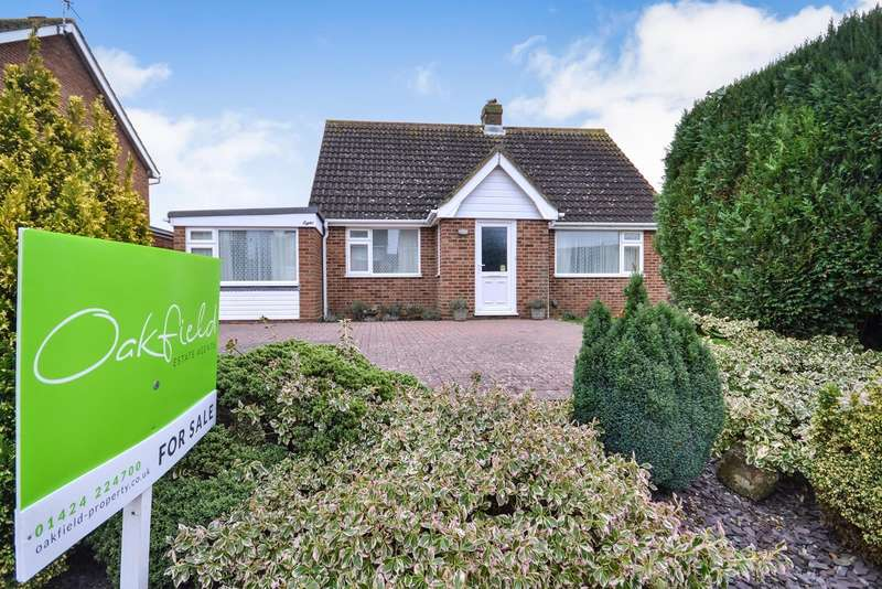 3 Bedrooms Detached Bungalow for sale in Buckholt Avenue, Bexhill On Sea, TN40