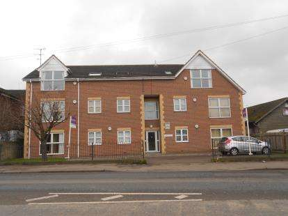 1 Bedroom Flat for sale in Ashleigh House, Cardington Road, Bedford, Bedfordshire