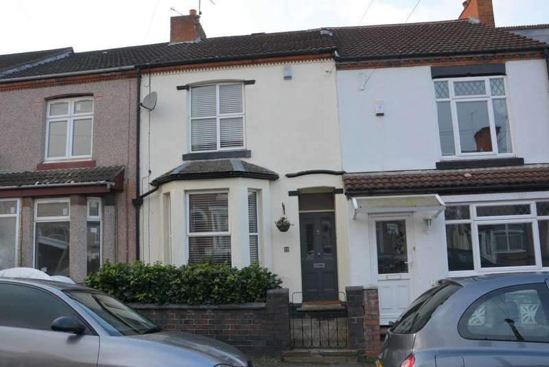 3 Bedrooms Terraced House for sale in Grosvenor Road, Rugby Town Centre