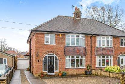 4 Bedrooms Semi Detached House for sale in St. Catherines Road, Harrogate, North Yorkshire, .
