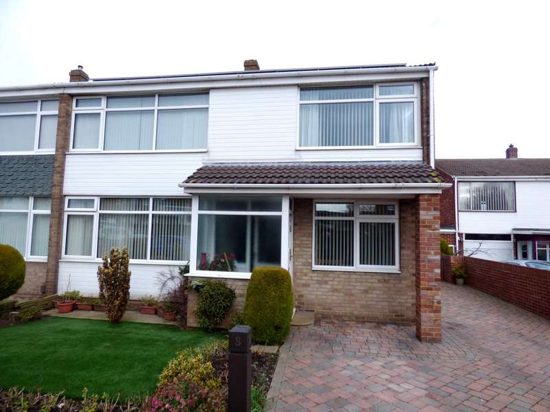4 Bedrooms Semi Detached House for sale in Grenville Close, Marske By The Sea