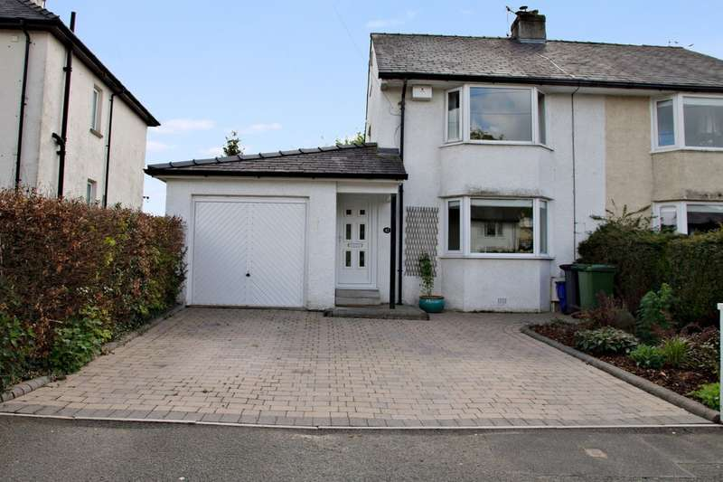 3 Bedrooms Semi Detached House for sale in 42 Bellingham Road, Kendal, Cumbria, LA9 5JP