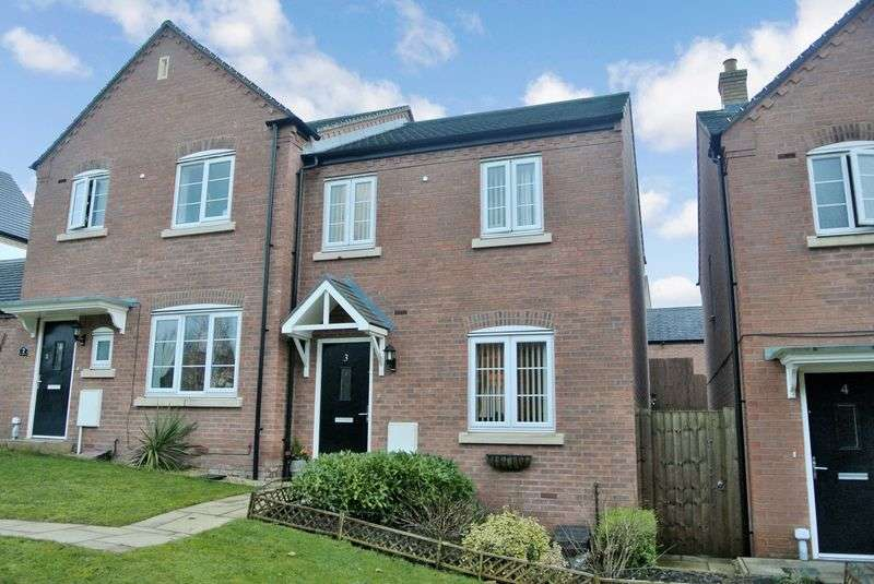 3 Bedrooms Semi Detached House for sale in Great Meadow Terrace, Woodside, Telford, Shropshire.