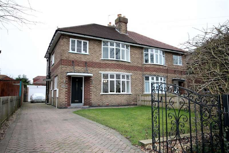 3 Bedrooms Semi Detached House for sale in Fulford Road, York, YO10 4HH