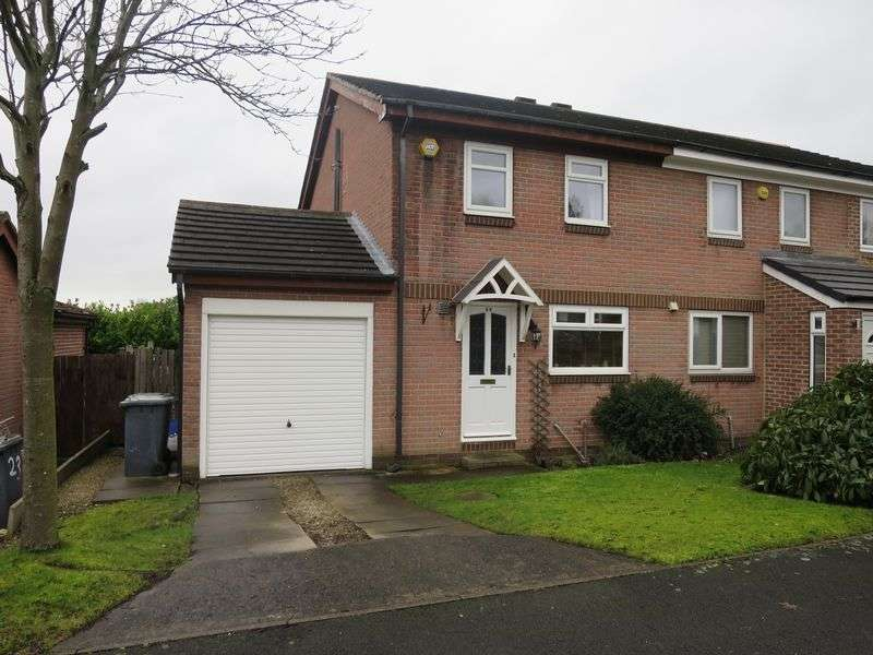 3 Bedrooms Semi Detached House for sale in Greenacres Drive, Birstall