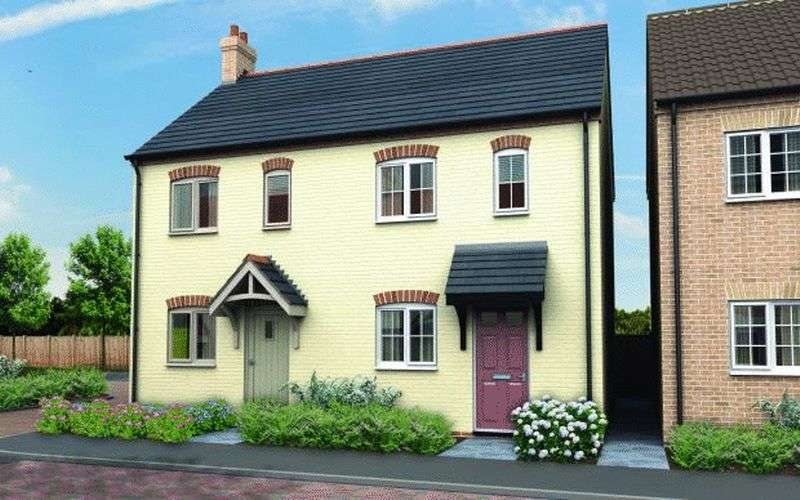 2 Bedrooms Semi Detached House for sale in The Grange, Heath Road, Scothern