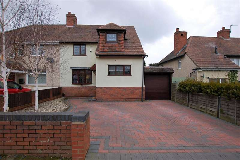 4 Bedrooms Semi Detached House for sale in Ashwood Avenue, Wordsley, DY8 5DE
